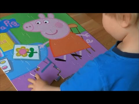 Peppa Pig Floor Puzzle By Little Noah Youtube