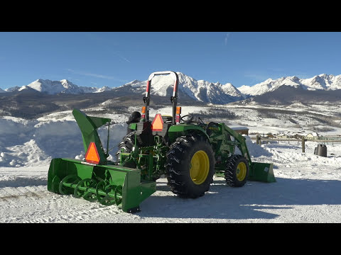 How To Use A Tractor-Powered Snowblower