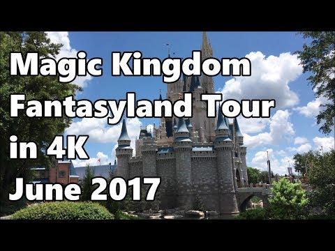 Magic Kingdom | Fantasyland Tour in 4K | June 2017 | Walt Disney World