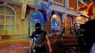 احتجاجات في مقدونيا للمطالبة باستقالة الرئيس جورجي إيفانوف