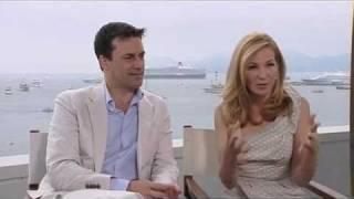 Jon Hamm And Jennifer Westfeld Interview