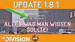 The Division 1.8.1   Alle wichtigen Infos zu Update 1.8.1   Division Tech bis zum Abwinken!