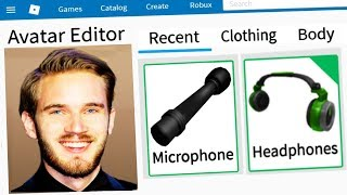 MAKING PEWDIEPIE A ROBLOX ACCOUNT