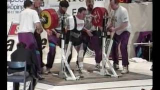Ed Coan squat 410kg  900lbs WC Joenkoping