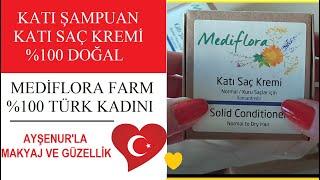 Katı Şampuan Ve Katı Saç Kremi MediFlora Farm Türk Kadınları İşbaşında
