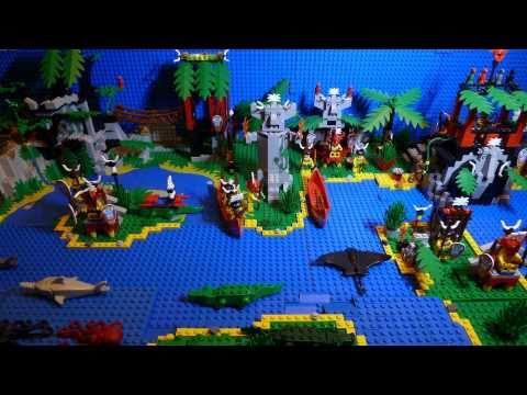 LEGO Pirates Enchanted Island 6278 Stop Motion Building ...