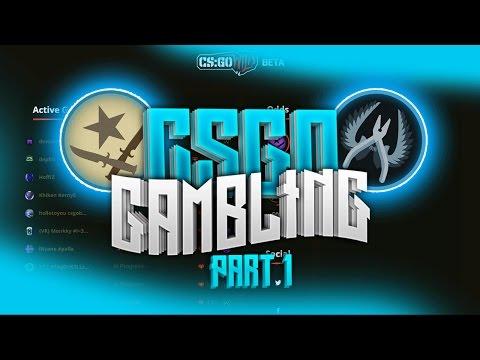 CS:GO Betting - Part 1 - THE LUCK! (CS:GO Wild Coin Flip Gambling!)