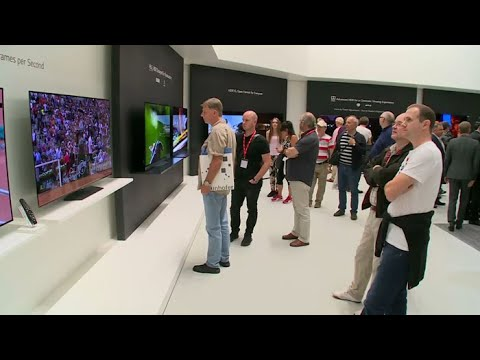 ifa 2017 tv yonhapnewstv youtube. Black Bedroom Furniture Sets. Home Design Ideas