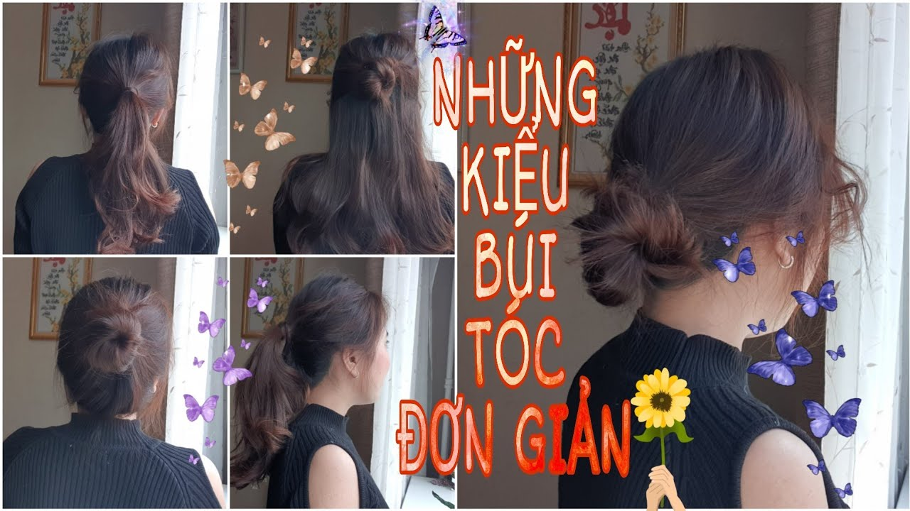 Những Kiểu Búi Tóc Style Hàn Quốc Đơn Giản| Simple Bun Korean Hairstyles | Tổng quát các kiến thức về các kiểu búi tóc hàn quốc chuẩn nhất