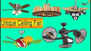 30 Unique Modern Ceiling Fan with Light Ideas Latest Collection 2018