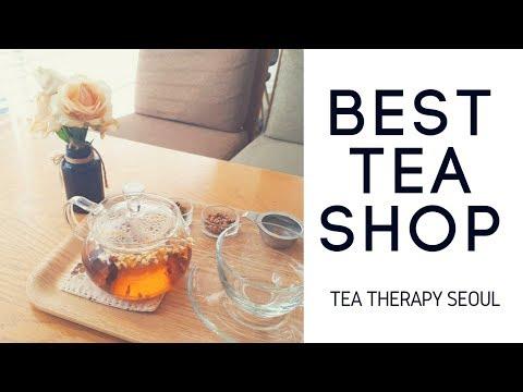 Explore Seoul: Best Tea Cafe: Tea Therapy