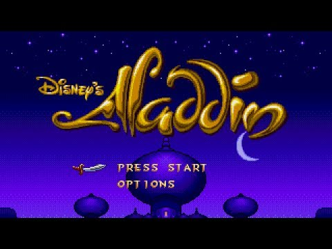 [Full GamePlay] Aladdin (Difficult Mode) [Sega MegadriveGenesis]