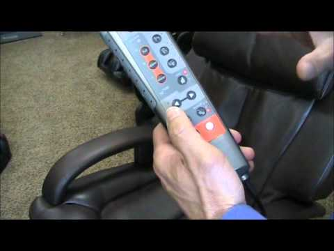 Remote Control Human Touch Ht 7120 Massage Chair Youtube