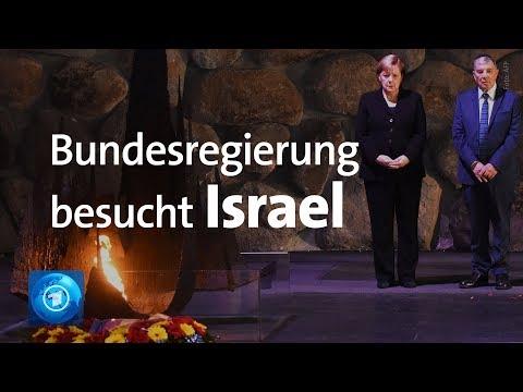 Holocaust-Gedenken: Merkel besucht Yad Vashem