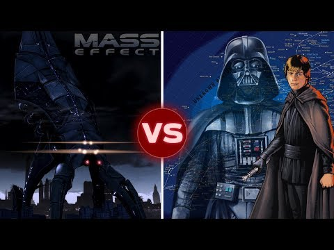 Could the Star Wars Galaxy Survive a Reaper Invasion? Mass Effect vs Star Wars