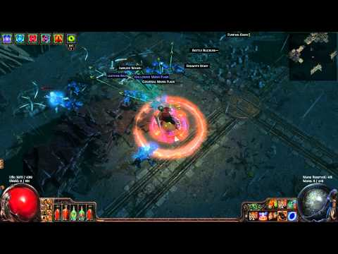 Path Of Exile: Full Life Righteous Fire Duelist & Ethereal Knives Quick Docks Run