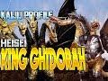 King Ghidorah (Heisei) / Mecha-King Ghidorah KAIJU PROFILE 【wikizilla.org】