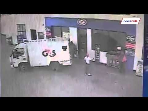 WATCH: Cash in Transit Robbery in Welkom