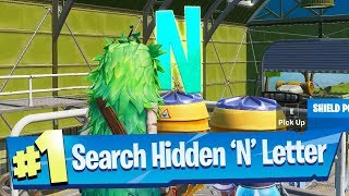 Search hidden 'N' found in the The Lowdown Loading Screen - Fortnite Battle Royale