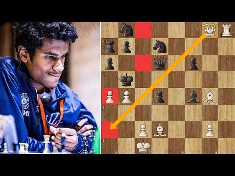 Brilliant King Hunt by India's 2 Times National Champion Karthikeyan Murali