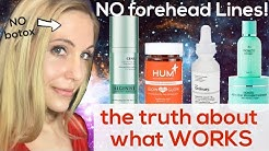 Get RID of Forehead Lines (Science-backed Results!)