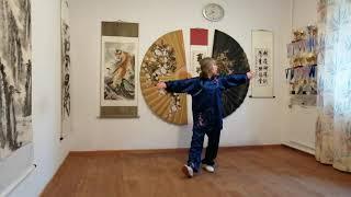 Цигун ''Даоинь Яншен Гун'': ''Укрепляющий Почки и Потенцию'' №1