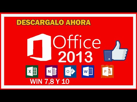 Descargar  Office 2013 En Español Para Windows 7/ 8  Y 10 / 32 Y 64 Bits + Activador 2019