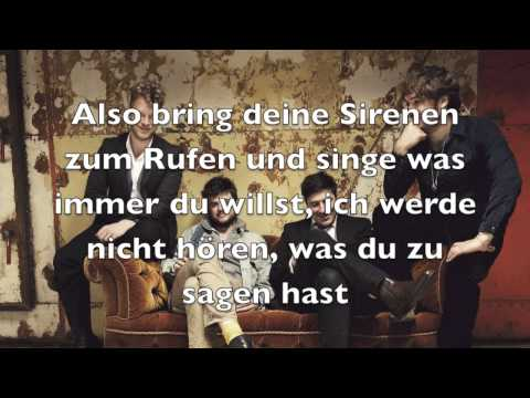 Mumford & Sons- The Cave Lyrics auf Deutsch