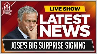 MOURINHO'S Surprise Signing? Plus Ivan PERISIC Latest! MUFC TRANSFER NEWS