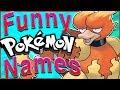 50 HILARIOUS International Pokémon Names!