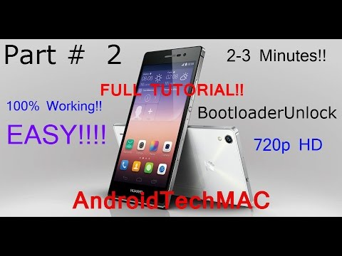 How to Unlock [Any] Huawei Ascend Y300 Bootloader [Easy Way] In 3 Minutes