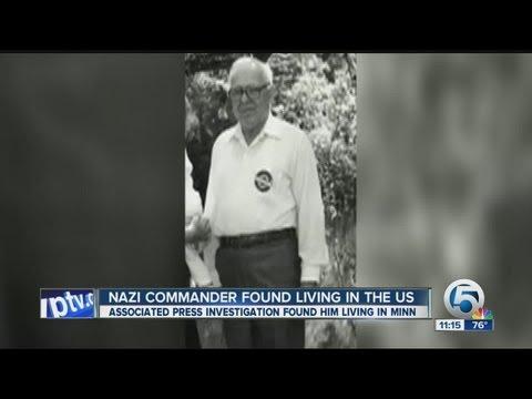 Nazi commander found living in the U.S.