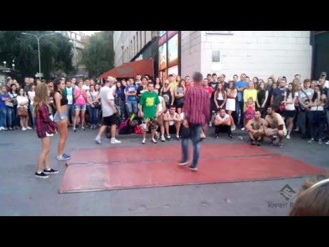 Танцевальные батлы Крещатика, Вечерний Киев ч 6 - Dance Battles Khreshchatyk, Kiev Evening p 6 v 2