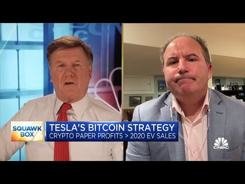 Wedbush's Dan Ives on estimating that Tesla has made roughly $1 billion in profits from bitcoin