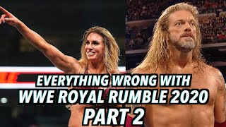 Episode #493: Everything Wrong With WWE Royal Rumble 2020 (Part 2)