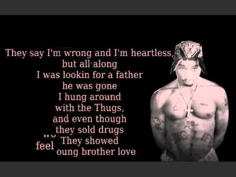 Dear Mama (lyrics) - Tupac