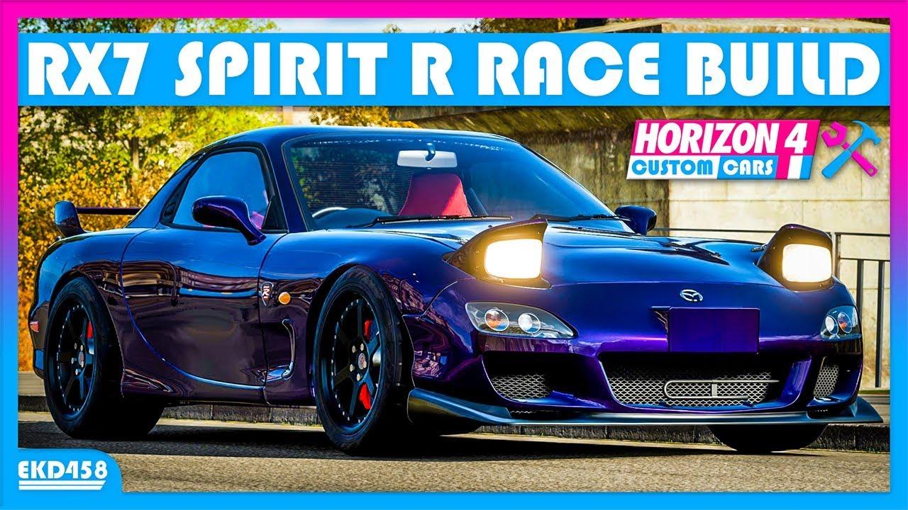 500HP RX7 Spirit R Race Build | Forza Horizon 4 Custom Cars #7