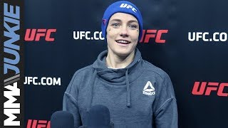 Jessica-Rose Clark full UFC Fight Night 124 open workout media scrum