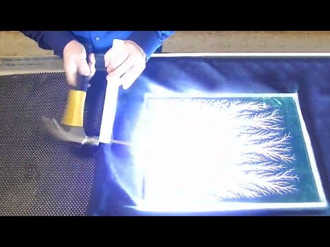 Capturing Lightning In Glass