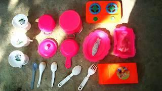 Playing toys kitchen Sathi Surprise Toysreview | childrens playing kitchen set |