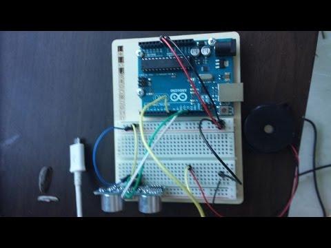 Arduino Hc Sr04 Projects Ultrasonic Door Alarm Motion