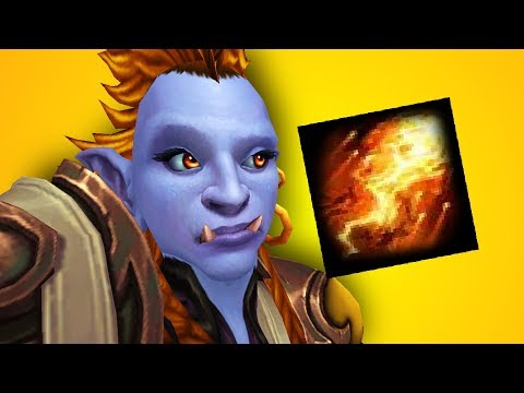 Possibly The WORST Caster In PvP - Fire Mage PvP WoW Legion 73
