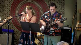 Christine, Sean and Odessa Performing Rehab Main Street Music and Art Studio