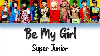 Super Junior Be My Girl Lyrics