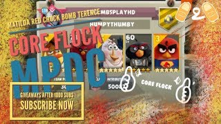 Angry Birds Evolution Core Flock Major Pecker's Daily Challenge Gameplay