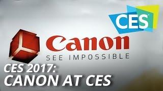 CES 2017: Canon at CES