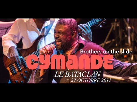 CYMANDE Brothers on the slide  Le Bataclan 22102017