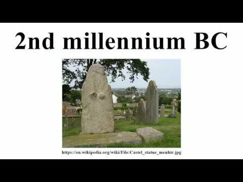 2nd millennium BC