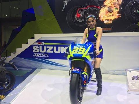 Cận Cảnh Xe đua GP Suzuki Tại Vietnam