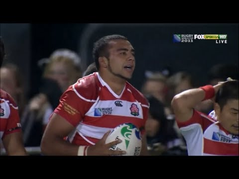 Michael Leitch performance vs Tonga 2011
